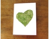 Greeting Card - Succulent Love - Cactus Heart