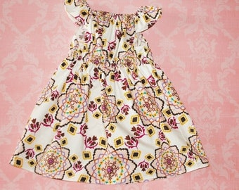 ON SALE! Oh, Mandy (white) nelle dress, size 12mos.-8 girls