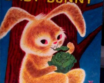 1951 The Hungry Baby Bunny Book