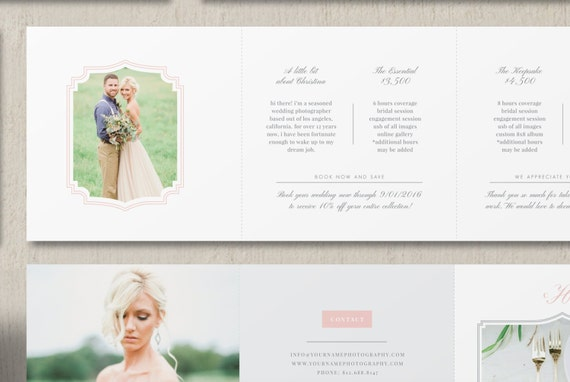 price list template wedding photographer pricing guide