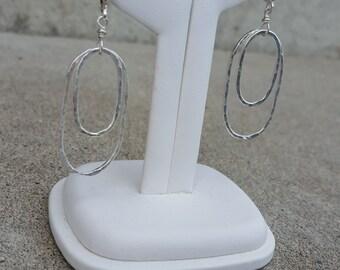Fun Double Oval Earrings