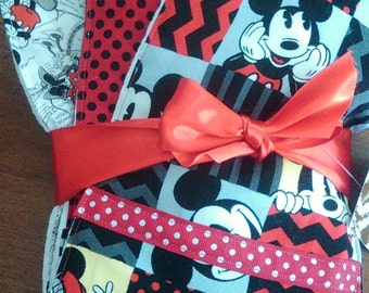 Mickey Mouse Burp Cloths...Set of 3