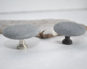 Choose Your Hardware - Beach Rock Cabinet Knobs - Pair