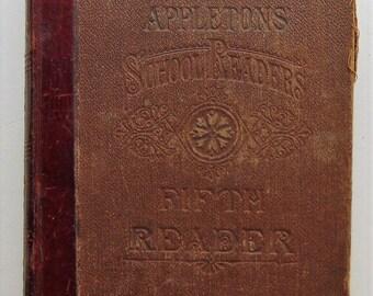 5th Grade School Book 1880