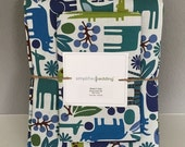 ON SALE Kids Zoo Animal Duvet Cover Set made with Alexander Henry 2DZoo fabric - Choice of Toddler or Twin size