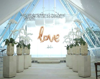 Love sign balloon for wedding, Birthday