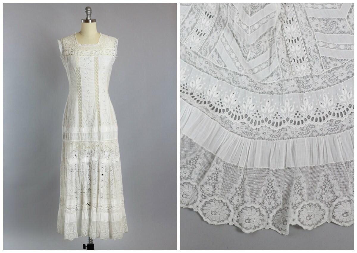 SALE Victorian Dress 1870s 1890s bination Petticoat