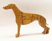 Greyhound Wood Puzzle