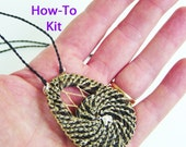 DIY Kit, How-To Horsehair Necklace, Do It Yourself: Learn to Coil with Horsehair, Coiling Instruction