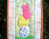 Springtime Candy Mug Rug Quilt Pattern PDF