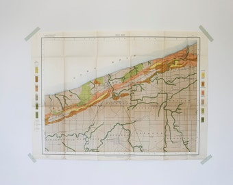 lake erie vintage soil map