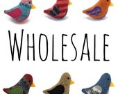 WHOLESALE - Birds of a Sweater - 10 Cat Toys