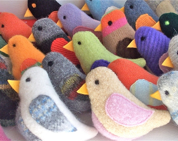 Featured listing image: Birds of a Sweater - Pack of 3 Cat Toys