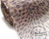 Cheetah Print Sinamay Fabric (1/2 yard) for Millinery, Fascinators and Hat Making
