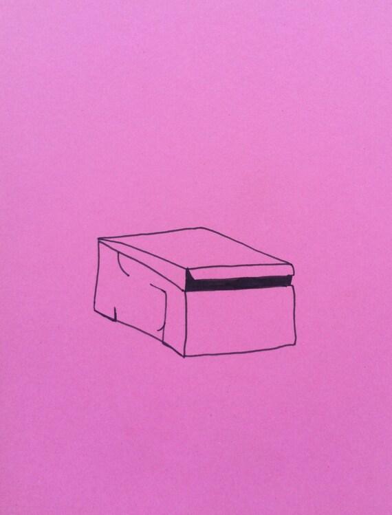 minimalist ink print: Bakery
