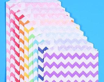 Rainbow Favor Bags, Rainbow Goodie Bags, Unicorn Party Favor Bags, Rainbow Candy Buffet Bags, Sweet Bags, Rainbow Candy Bags (18)
