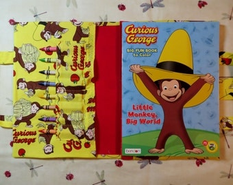 CURIOUS GEORGE Take Everywhere Coloring Book