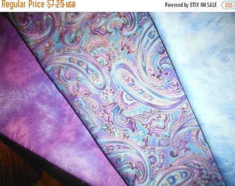 Gorgeous Purple or Blue Swirl  Fabric--Stunning -- LAST Piece -- RESERVE For Lady Di