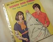Vintage Little Golden Book Donny And Marie