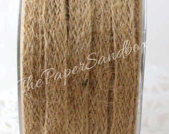 "Natural Burlap Ribbon, 1/2"" wide by the yard, Nautical, Nautical Weddings, Gift Wrapping, Crafts, Party Supplies, Sewing, Rustic Wedding"