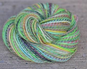 Second Love - superwash merino/nylon n-ply/chain-ply handspun yarn - bulky weight, 108 yards