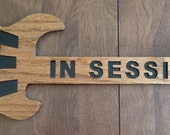 RESERVED for Leona H. Custom guitar wall hanging
