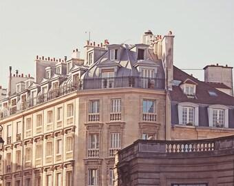 """Paris Photography // Paris Prints // Paris Architecture // Travel Photography // Square Format Prints // Europe  - """"Paris Rooftops 2"""""""