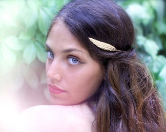 Egyptian Princess Headband, Mythology Crown, Ancient Rome Fashion, Greek Accessories, Bridal Hair Accessory, Gold Leaves Headband, Read Band