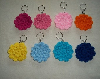 Power to the Flower Keychain