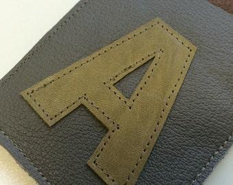 Initial 'A' Card Sleeve