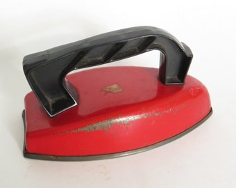 Vintage Child's Toy Play Iron by Wolverine