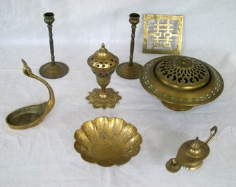 Vintage Brass Collection