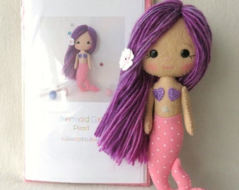 Pearl - Mermaid Girl Pattern Kit