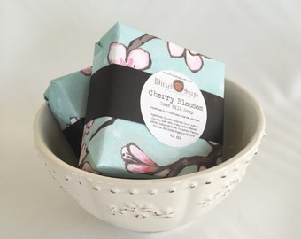 Cherry Blossom Goats Milk Soap Bar by WickedSoaps
