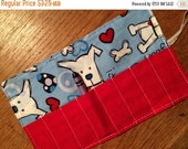 Spring sale sale sale Crayon Roll up Dog woof