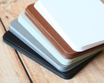 500pc NEUTRAL Colours Eco Series Business Card Blanks