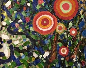 A bit Shady, original painting by Katie Jurkiewicz