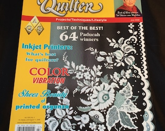 American Quilter Magazine - July 2008 Edition - Like New Condition