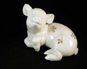 "Lenox Jewels ""Portly Pig"" Figurine"
