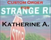 Custom Order, Katherine, BG Images