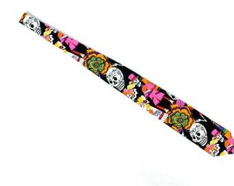 Viva Los Novios Day of the Dead Necktie | Mens Tie