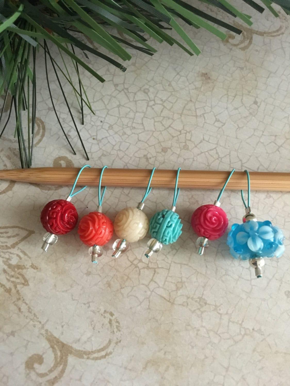Knitting Markers Etsy : Knitting stitch markers snag free