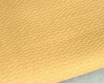 Vintage Cotton Fabric, Mid-Century, Gold, Cotton Fabric, Medium Weight, 1 Yard, Skirt Fabric, Upholstery Fabric, Woven Cotton Textiles