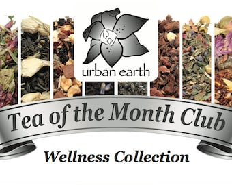 Tea of the Month Club (WELLNESS COLLECTION)