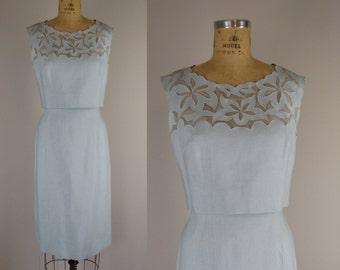 vintage 1960s dress / Harmay 60s dress / Sculpted dress