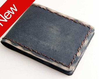 Mini-Bifold The Eastwood (Black), leather wallet, small leather wallet, slim wallet, slim leather wallet, minimal wallet, wallets for men