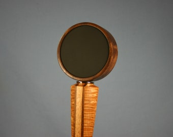 Chalkboard Beer Tap Handle - Made to Order from Solid Tiger Maple, Walnut, and Mahogany