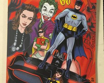 Batman 66 Volume 3, signed by Jeff Parker!