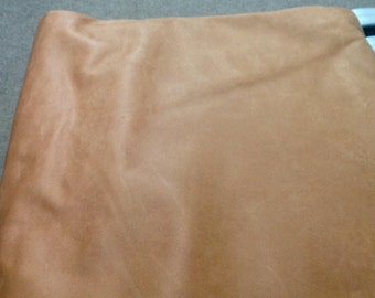 159RMNT.  Tan Crust Leather Cowhide.
