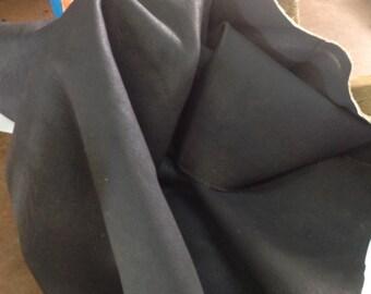 EZ91.   Dark Brown Leather Buffalo Hide